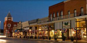 historic granbury downtown